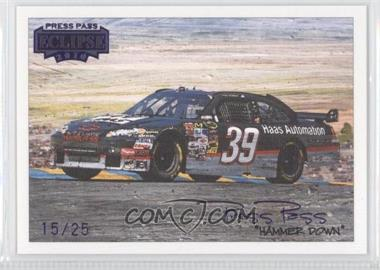 2010 Press Pass Eclipse - [Base] - Purple #40 - Ryan Newman /25