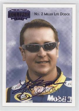 2010 Press Pass Eclipse Purple #18 - Kurt Busch /25