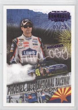 2010 Press Pass Eclipse Purple #60 - Jimmie Johnson /25