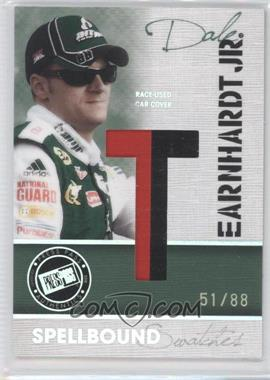 2010 Press Pass Eclipse Spellbound Swatches Holo #9 - Dale Earnhardt Jr. /88