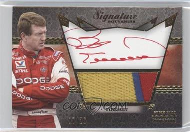 2010 Press Pass Five Star Signature Souvenirs Gold #SS-BE - Bill Elliott /25