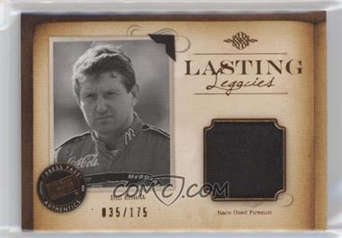 2010 Press Pass Legends - Lasting Legacies Memorabilia - Copper #LL-BE1 - Bill Elliott /175