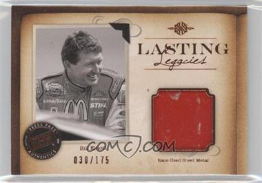2010 Press Pass Legends - Lasting Legacies Memorabilia - Copper #LL-BE2 - Bill Elliott /175