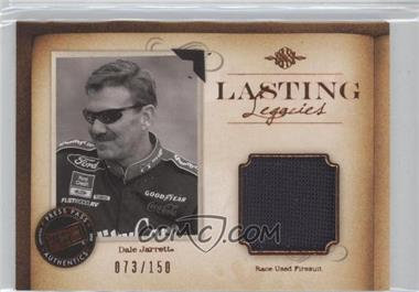 2010 Press Pass Legends - Lasting Legacies Memorabilia - Copper #LL-DJ - Dale Jarrett /150