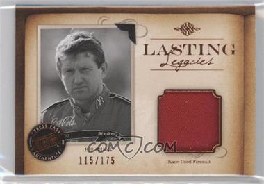 2010 Press Pass Legends Lasting Legacies Memorabilia Copper #LL-BE1 - Bill Elliott /175
