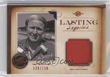 2010 Press Pass Legends Lasting Legacies Memorabilia Copper #LL-CY - Cale Yarborough /150