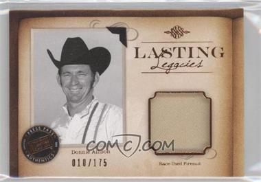 2010 Press Pass Legends Lasting Legacies Memorabilia Copper #LL-DoA - Donnie Allison /175