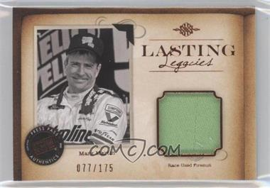 2010 Press Pass Legends Lasting Legacies Memorabilia Copper #LL-MM - Mark Martin /175