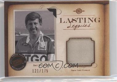 2010 Press Pass Legends Lasting Legacies Memorabilia Copper #LL-NB - Neil Bonnett /175