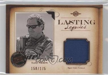 2010 Press Pass Legends Lasting Legacies Memorabilia Copper #LL-RW2 - Rusty Wallace /175