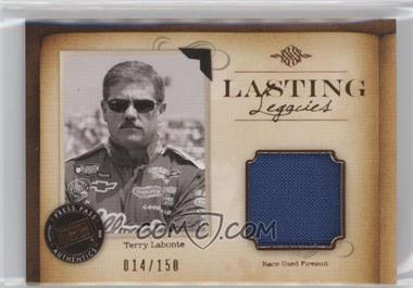 2010 Press Pass Legends Lasting Legacies Memorabilia Copper #LL-TL - Terry Labonte /150