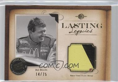 2010 Press Pass Legends Lasting Legacies Memorabilia Gold #LL-BE2 - Bill Elliott /75