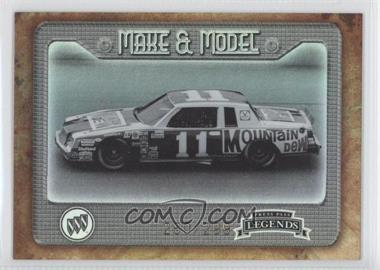 2010 Press Pass Legends Make & Model Holo #M&M 7 - Darrell Waltrip /299