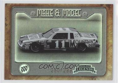 2010 Press Pass Legends Make & Model Holo #M&M 7 - Darrell Waltrip /299