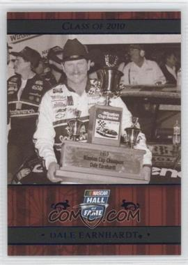 2010 Press Pass Multi-Product Insert Class of 2010 Blue #NHOF 74 - Dale Earnhardt