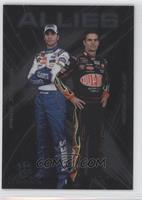 Jimmie Johnson, Jeff Gordon