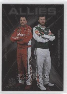 2010 Press Pass Premium Allies #A 2 - Tony Stewart, Dale Earnhardt Jr.