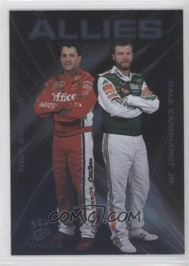 2010 Press Pass Premium Allies #A 2 - Tony Stewart, Dale Earnhardt Jr.