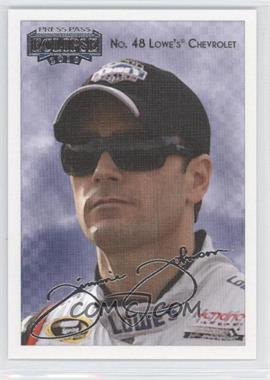 2010 Press Pass Press Pass Eclipse Previews #1 - Jimmie Johnson
