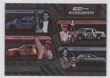 2010 Press Pass Showcase - [Base] - Gold 2nd Gear #29 - Richard Petty, Cale Yarborough, Darrell Waltrip, Mario Andretti /125