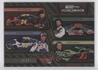 Jeff Gordon, Dale Earnhardt Jr., Jimmie Johnson, Mark Martin /125
