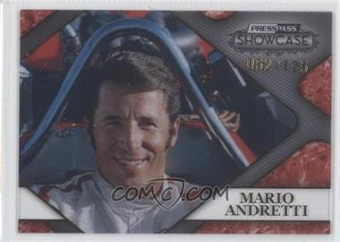 2010 Press Pass Showcase - Racing's Finest - Gold #RF 4 - Mario Andretti /125