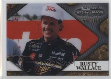 2010 Press Pass Showcase - Racing's Finest - Gold #RF 5 - Rusty Wallace /125