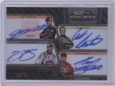 2010 Press Pass Showcase [???] #CCI-WIN - Jimmie Johnson /10