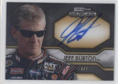 2010 Press Pass Showcase [???] #EEI-JB - Jeff Burton /7