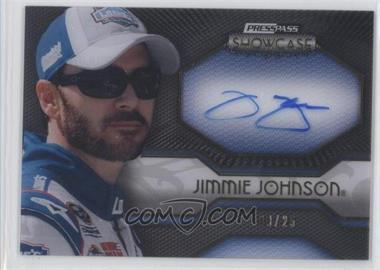2010 Press Pass Showcase [???] #EEI-JJ - Jimmie Johnson /25