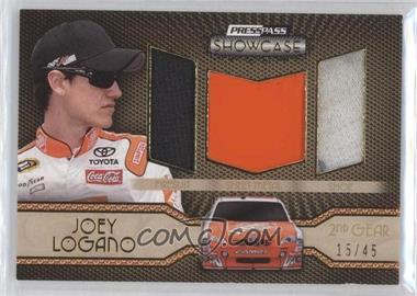 2010 Press Pass Showcase [???] #EEM-JL - Joey Logano /45