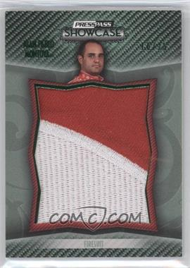 2010 Press Pass Showcase [???] #PPM-JM - Juan Pablo Montoya /25