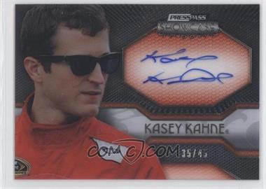 2010 Press Pass Showcase Elite Exhibit Ink Silver #EEI-KK - Kasey Kahne /45