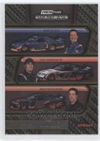 Kurt Busch, Sam Hornish Jr., Brad Keselowski /125