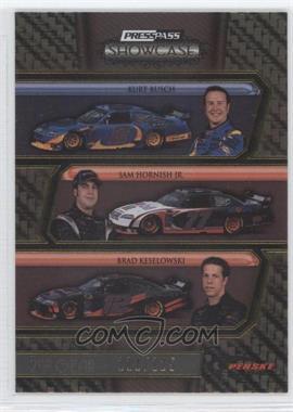2010 Press Pass Showcase Gold 2nd Gear #36 - Kurt Busch, Sam Hornish Jr., Brad Keselowski /125