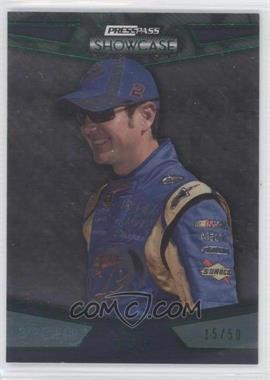 2010 Press Pass Showcase Green 3rd Gear #7 - Kurt Busch /50