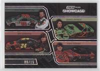 Dale Earnhardt Jr., Danica Patrick, Jeff Gordon, Tony Stewart /15