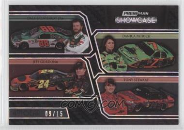 2010 Press Pass Showcase Holo 4th Gear #30 - Dale Earnhardt Jr., Danica Patrick, Jeff Gordon, Tony Stewart /15