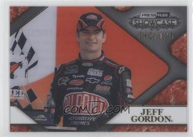 2010 Press Pass Showcase Racing's Finest Gold #RF 10 - Jeff Gordon /125