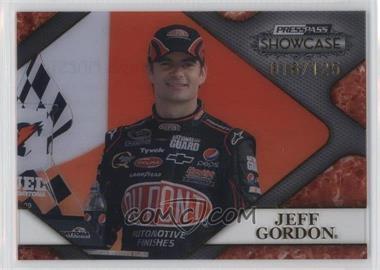 2010 Press Pass Showcase Racing's Finest Gold #RF 10 - Jeff Gordon /125