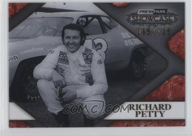 2010 Press Pass Showcase Racing's Finest Gold #RF 2 - Richard Petty /125