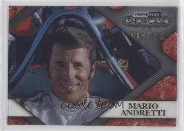 2010 Press Pass Showcase Racing's Finest Gold #RF 4 - Mario Andretti /125