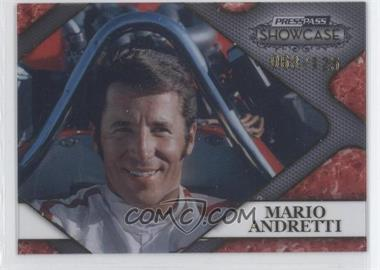 2010 Press Pass Showcase Racing's Finest Gold #RF 4 - Mario Andretti /125