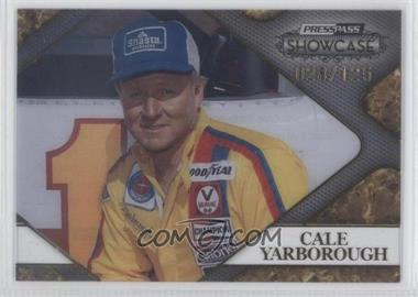 2010 Press Pass Showcase Racing's Finest Gold #RF 9 - Cale Yarborough /125