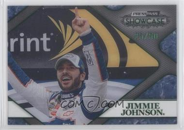 2010 Press Pass Showcase Racing's Finest Green #RF 12 - Jimmie Johnson /50