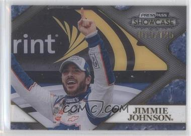 2010 Press Pass Showcase Racing's Finest #RF 12 - Jimmie Johnson /499
