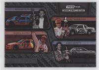 Richard Petty, Cale Yarborough, Darrell Waltrip, Mario Andretti /499