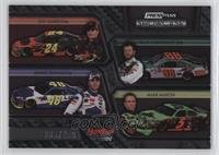 Jeff Gordon, Jimmie Johnson, Dale Earnhardt Jr., Mark Martin /499