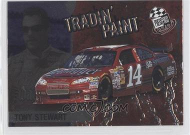 2010 Press Pass Tradin' Paint #TP 4 - Tony Stewart