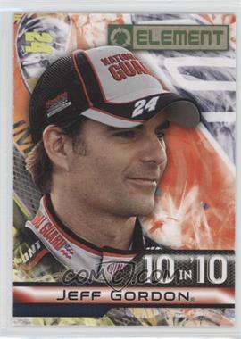 2010 Wheels Element 10 in '10 #TT-5 - Jeff Gordon